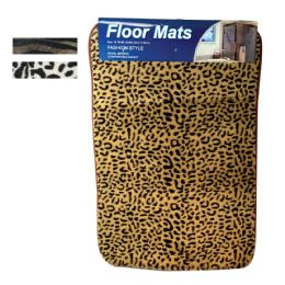 48 Units of Floor Mat Memory Foam 15 X23 Inch Assorted Animal Prints - Bath Mats