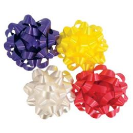 54 Units of Luxury Bows 4.5 In Self Stick - Bows & Ribbons