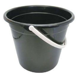 24 Units of PLASTIC BUCKET 2.5 GALLON - Buckets & Basins