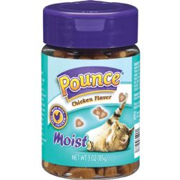 10 Units of POUNCE CAT TREATS- CHICKEN FLAVOR 3 OZ - Pet Chew Sticks and Rawhide