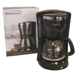 6 Units of Brentwood Coffee Maker 12 Cup Black Etl Listed - Kitchen Gadgets & Tools