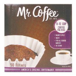 12 Units of Mr Coffee Filter 50 Count Boxed - Kitchen Gadgets & Tools