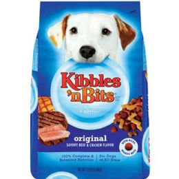 4 Units of KNB ORIGINAL 3.5 LB DRY DOG FOOD - Pet Chew Sticks and Rawhide