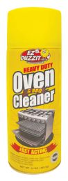 12 Units of Oven And Bbq Cleaner 13 Oz Heavy Duty - BBQ supplies