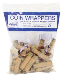 50 Units of Coin Wrappers 36 Count Dime - Coin Holders & Banks