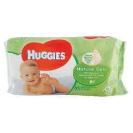 10 Units of Huggies Baby Wipes 56 Count Natural Care - Baby Accessories