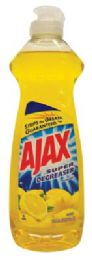 20 Units of Ajax Dishwashing Liquid 12.6 Oz Lemon Super Degreaser - Cleaning Products