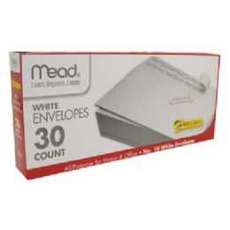 12 Units of MEAD ENVELOPES 30 CT #10 SELF-ADHESIVE - Envelopes