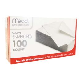 24 Units of MEAD ENVELOPES 100 CT #6.75 - Envelopes