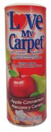 12 Units of LOVE MY CARPET AND ROOM DEODORIZER 14 OZ APPLE CINNAMON - Air Fresheners