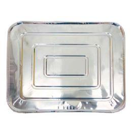 100 Units of Foil Lid For 1/2 Size Pan 13.5 X 11 in - Aluminum Pans