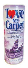 12 Units of LOVE MY CARPET CARPET AND ROOM DEODORIZER 14 OZ LAVENDER DREAMS - Air Fresheners