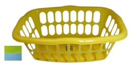 48 Units of Basket Rectangular 18 X 13 X 7.5 Inches Assorted Colors - Baskets