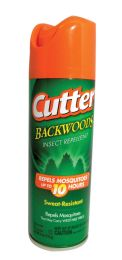 12 Units of Cutter Insect Repellent 6 Oz Backwoods Aerosol Spray Sweat Resistant - Personal Care Items