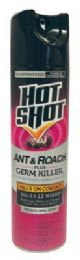12 Units of Hot Shot Ant/roach/germ Killer 17.5 Oz Fresh Floral Scent Must Be Broken - Pest Control