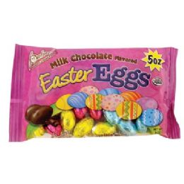 24 Units of PALMER EASTER EGGS 5 OZ MILK CHOCOLATE - Food & Beverage