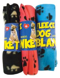24 Units of PRIDE PET SNUGGLY FLEECE 23 X 47 INCH ASSORTED