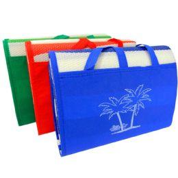 24 Units of Straw Beach Mat - Beach Towels