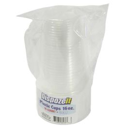 36 Units of Plastic Cup 16 Count 16 Oz Clear - Disposable Cups