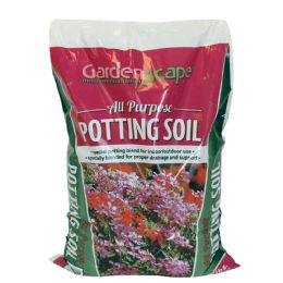 6 Units of Garden Scape All Purpose Potting Soil 8 Lbs Max 10 Cases - Garden Cleanup Aids