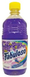 24 Units of FABULOSO ALL PURPOSE CLEANER 16.9 OZ LAVENDER - Cleaning Products