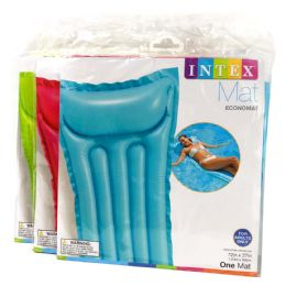 12 Units of InteX- Pool Mat 72x72 Astd Adults Only - Summer Toys