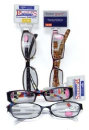 100 Units of FOSTER GRANT PREMIUM READING GLASSES STRONG POWER ASSORTED STYLES - Eyeglass & Sunglass Cases
