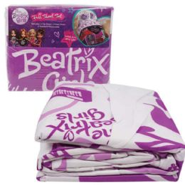 2 Units of BEATRIX GIRLS-BED SHEET SET-FULL SIZE 4 PC SET - Bed Sheet Sets
