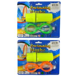 36 Units of SWIM GOGGLES AND WATERPROOF CAPSULE KIDS - Beach Toys