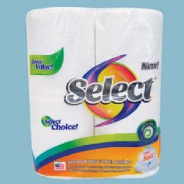 24 Units of Select Bath Tissue 4 Pack 135-2 Ply Sheets - Bathroom Accessories