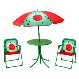 KIDS' PATIO SET LADYBUG - Garden Decor