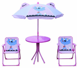 KIDS' PATIO SET CAT - Garden Decor