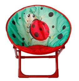 6 Units of Kids' Moon Chair Ladybug - Camping Gear