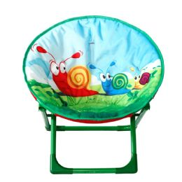 6 Units of Kids' Moon Chair Snail - Camping Gear
