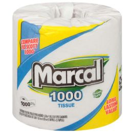 80 Units of Marcal Single Roll 1000ct B/tissue - Paper