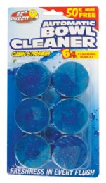 36 Units of Automatic Toilet Bowl Cleaner 6 Pack 10.5 Oz Total - Cleaning Products
