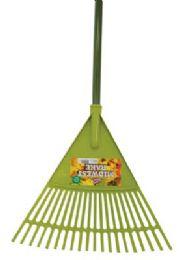 12 Units of EZ DUZZIT 18 IN LEAF RAKE 5 - Garden Cleanup Aids