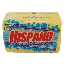 25 Units of HISPANO BAR SOAP 2 PK SQUARE 5 - Soap & Body Wash