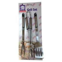 6 Units of BBQ TOOLS 3 PACK - BBQ supplies