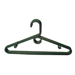 36 Units of Hanger 3 Pack Heavy Duty Black - Hangers