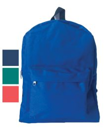 """18 Units of BACK PACK 16X12X6 INCHES ASSORTED COLORS - Backpacks 16"""""""