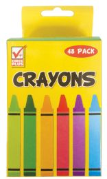 48 Units of Crayons 48 Count - Chalk,Chalkboards,Crayons