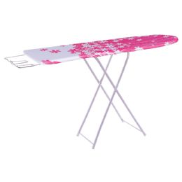 4 Units of WOOD IRONING BOARD 48X12 INCHES CLOTH COVER FLORAL DESIGN - Clothes Pins