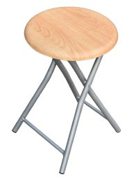 12 Units of Wood Folding Stool - Home Accessories