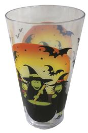 36 Units of Halloween Cup Plastic 16 Ounces - Halloween & Thanksgiving