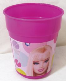 36 Units of Barbie Cup 14 Ounces Plastic - Plastic Drinkware