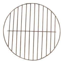 24 Units of Bbq Grate Round 11.5 Inch NoN-Stick - BBQ supplies
