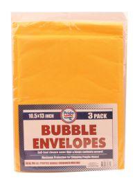 36 Units of BUBBLE ENVELOP 10.5 X 13 INCHES 3 PACK - Envelopes