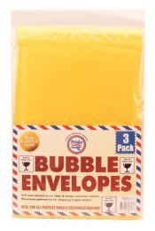 36 Units of BUBBLE ENVELOP 8.5 X 11.25 INCHES 3 PACK - Envelopes
