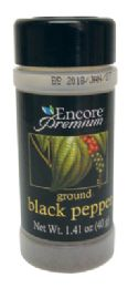 24 Units of ENCORE PREMIUM BLACK PEPPER 1.41 OZ GROUND - Food & Beverage